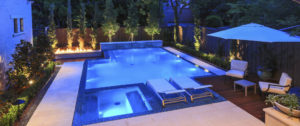 Fallas pool lighting