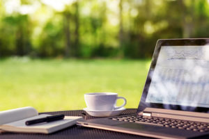 Outdoor work space image